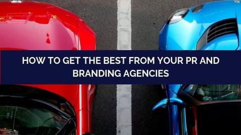 Branding and PR agency blog post