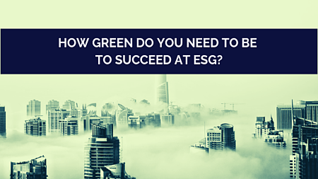 How green for ESG blog post