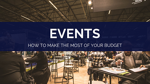 Events - how to make the most of your budget