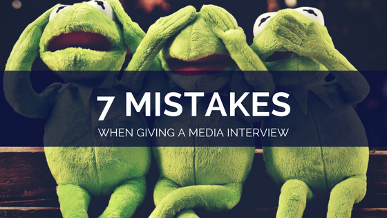 Common media interview mistakes