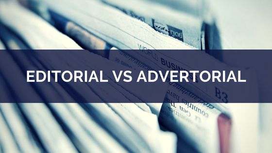 editorial vs advertorial coverage