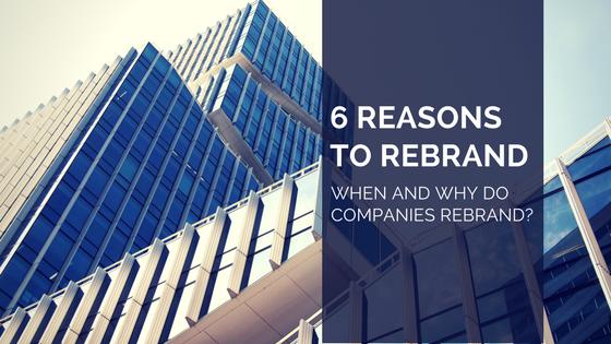 reasons to rebrand